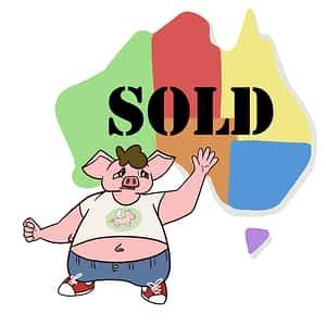flying pig sold