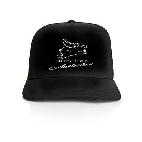 Bloody Clever Australians Black Cap